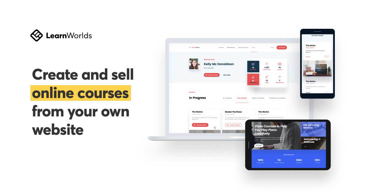 Learnworlds: Create & Sell Online Courses from Your Own Site